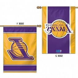 Los Angeles Lakers WC Premium 2-Sided 28x40 Banner Outdoor H