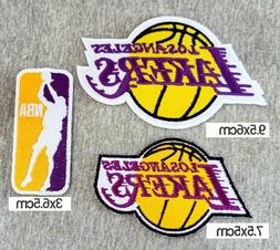 Los Angeles Lakers3pcs/set patches Logo for iron-sewing Deco