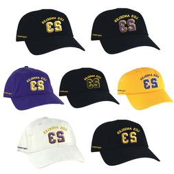 Los Angeles Player #23 x Lakers Color x LeBron Dad Cap Baseb