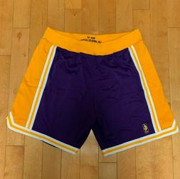 MITCHELL AND NESS AUTHENTIC LOS ANGELES LAKERS GAME SHORTS 1