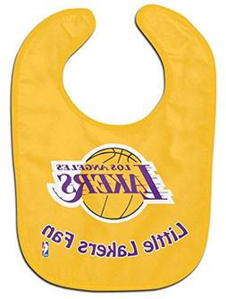 Los Angeles Lakers Official NBA Baby Bib All Pro Style by Wi