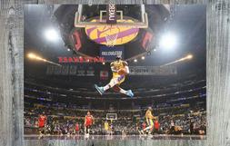 NBA Lebron James Los Angeles Lakers Game Action Color 8 X 10