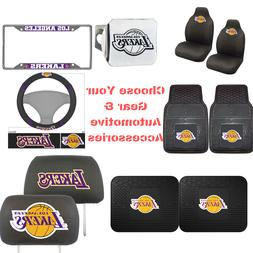 NBA Los Angeles Lakers Choose Your Gear Automotive Accessori