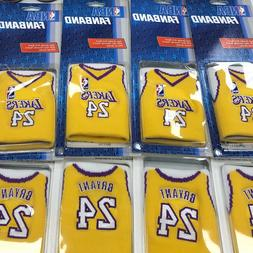 NBA Los Angeles Lakers Fan Band Kobe Bryant Embroidered Wris