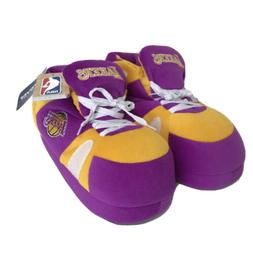 NBA Los Angeles Lakers FOCO Unisex Cozy Sneaker Slippers Pur