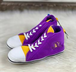NBA Los Angeles Lakers FOCO Unisex 'High Top' Cozy Slippers