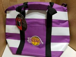 NBA Los Angeles Lakers Lunch Bag - Insulated Box Tote with s