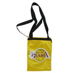NBA Los Angeles Lakers Messenger Mesh Jersey Bag Ladies Wome