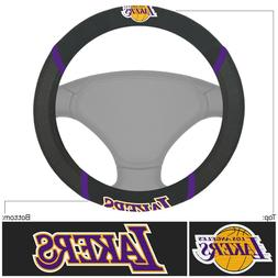 Fanmats NBA Los Angeles Lakers New Embroided Steering Wheel