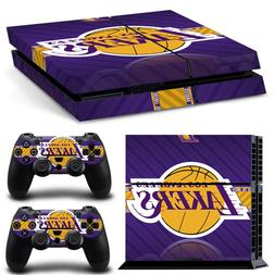 NBA Los Angeles Lakers PS4 Skin Controller Skin Decal Sticke
