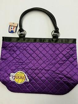 NBA Los Angeles Lakers Quilted Tote Bag, NEW