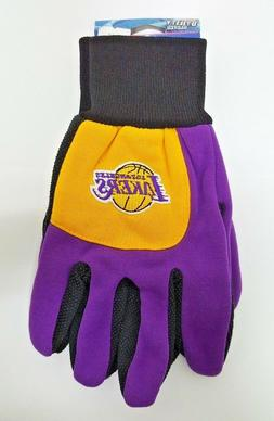 NBA Los Angeles Lakers Sports Utility Gloves With Palm Grip