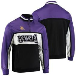 FISLL NBA Men's Los Angeles Lakers Three Pete Pullover Quart