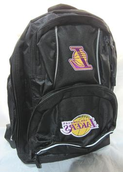 NBA NWT EMBROIDERED ADULT 3 COMPARTMENT BACKPACK - LOS ANGEL