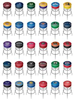 NBA - Padded Swivel Bar Stool - City - Basketball Team Logo