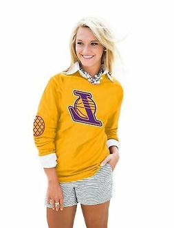 Gameday Couture NBA Women's Puff Print Elbow Patch Long Slee