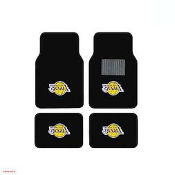 New 4pcs NBA LA Los Angeles Lakers Car Truck Front Back Carp