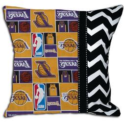 NEW LA Los Angeles Lakers NBA Basketball Decorative Throw Pi