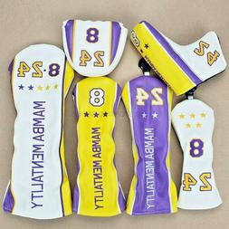 New Limited Mamba Mentality Golf Head Covers -driver - choos