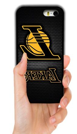 LOS ANGELES LAKERS RUBBER PHONE CASE FOR IPHONE XS 11 PRO MA