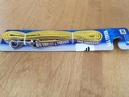 NEW, Los Angeles Lakers pet leash, purple gold, size small,