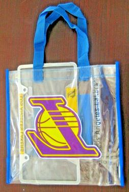 *NEW* LOS ANGELES LAKERS SGA LICENCE PLATE FRAME AND CLEAR T