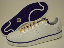New Mens Sz 18 ADIDAS Campus II Los Angeles LA Lakers White