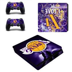 PS4 Slim Console Controllers Vinyl Skin Decals Stickers NBA