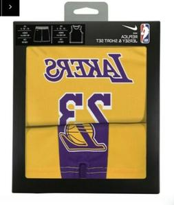 NIKE TODDLER LOS ANGELES LAKERS LEBRON JAMES REPLICA JERSEY
