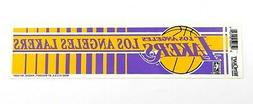 Vintage Los Angeles Lakers Bumper Sticker By Wincraft
