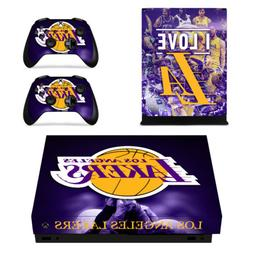 Xbox one X Console Controller Decals Vinyl Skin Stickers NBA